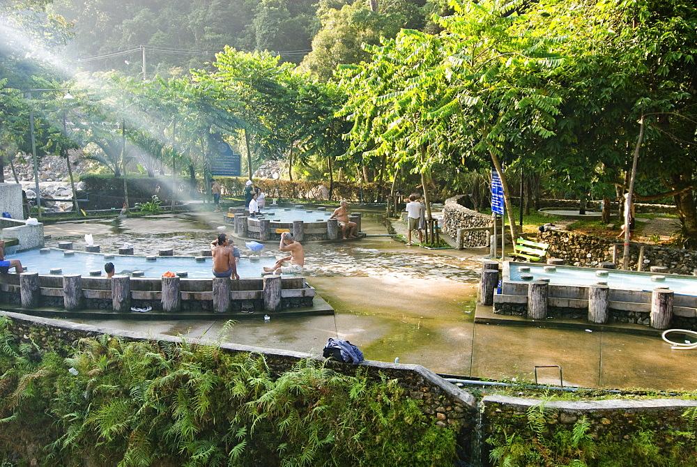 Hot springs, Ranong, Thailand, Southeast Asia, Asia - 784-254