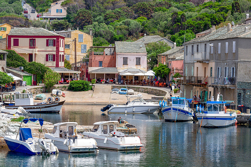 The small fishing village of Port de Centuri on Cap Corse, the most northerly point of Corsica - 785-2384