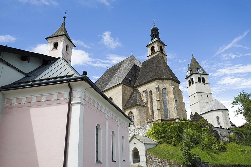 Church, Kitzbuhel, Austria, Europe