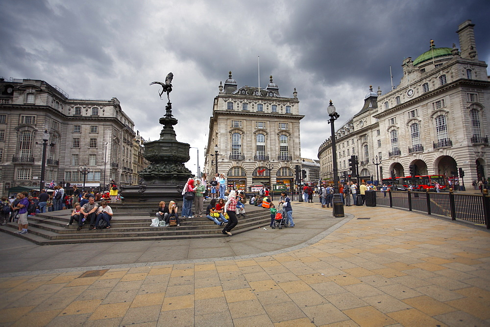 Piccadilly Circus, London, England, United Kingdom, Europe - 790-21