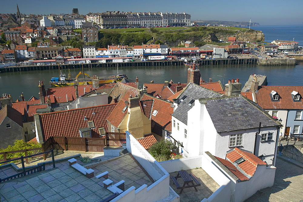 Whitby Harbour, Whitby, North Yorkshire, England, United Kingdom, Europe - 790-29