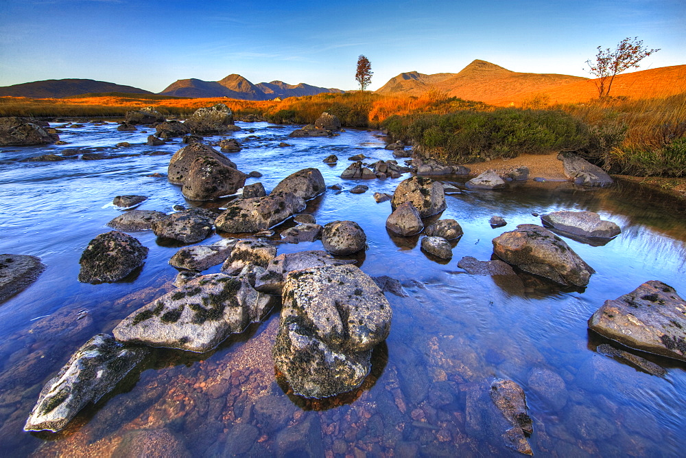 Rannoch Moor, Highlands, Scotland, United Kingdom, Europe - 790-46
