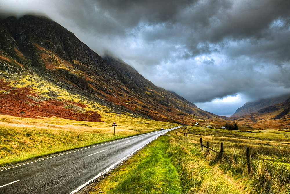 Glencoe, Highlands, Scotland, United Kingdom, Europe - 790-48