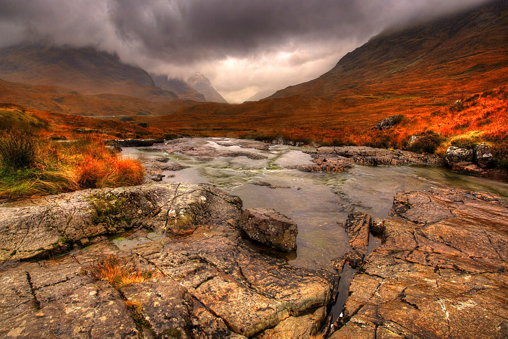 Glencoe, Highlands, Scotland, United Kingdom, Europe - 790-49