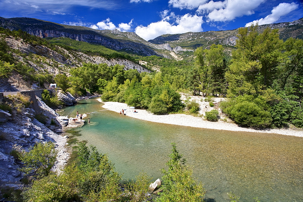 River Verdon, Gorge Du Verdon, Provence, France, Europe - 790-51