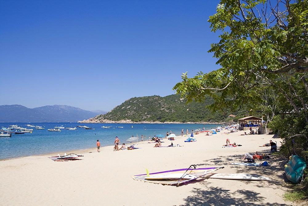 Campomoro beach. Valinco region, Corsica, France, Mediterranean, Europe - 791-32