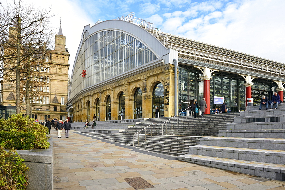 Lime Street Railway Station, Liverpool, Merseyside, England, United Kingdom, Europe