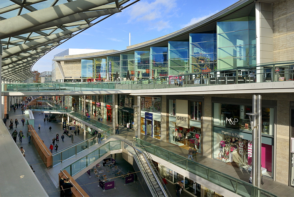 Liverpool One Shopping Complex, Liverpool, Merseyside, England, United Kingdom, Europe