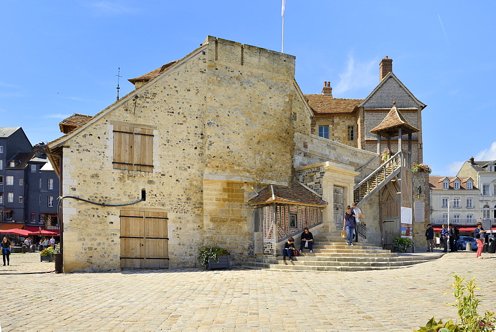The 18th century Lieutenance, former governors house, Quai de la Quarantaine, Honfleur, Basse Normandie (Normandy), France, Europe - 792-866
