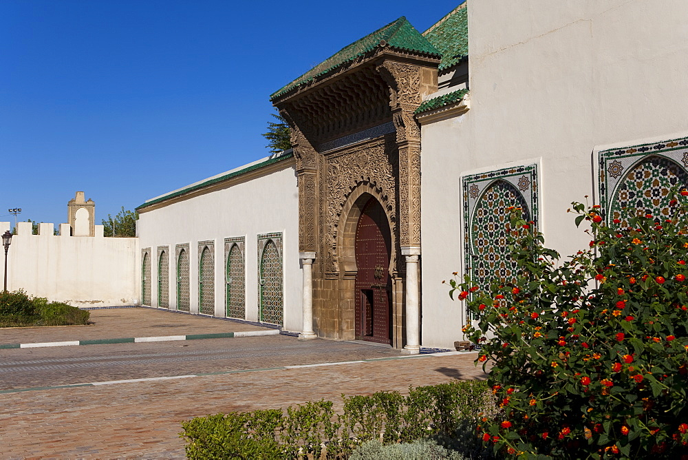 Mausoleum of Moulay Ismail, Meknes, UNESCO World Heritage Site, Morocco, North Africa, Africa - 793-1035