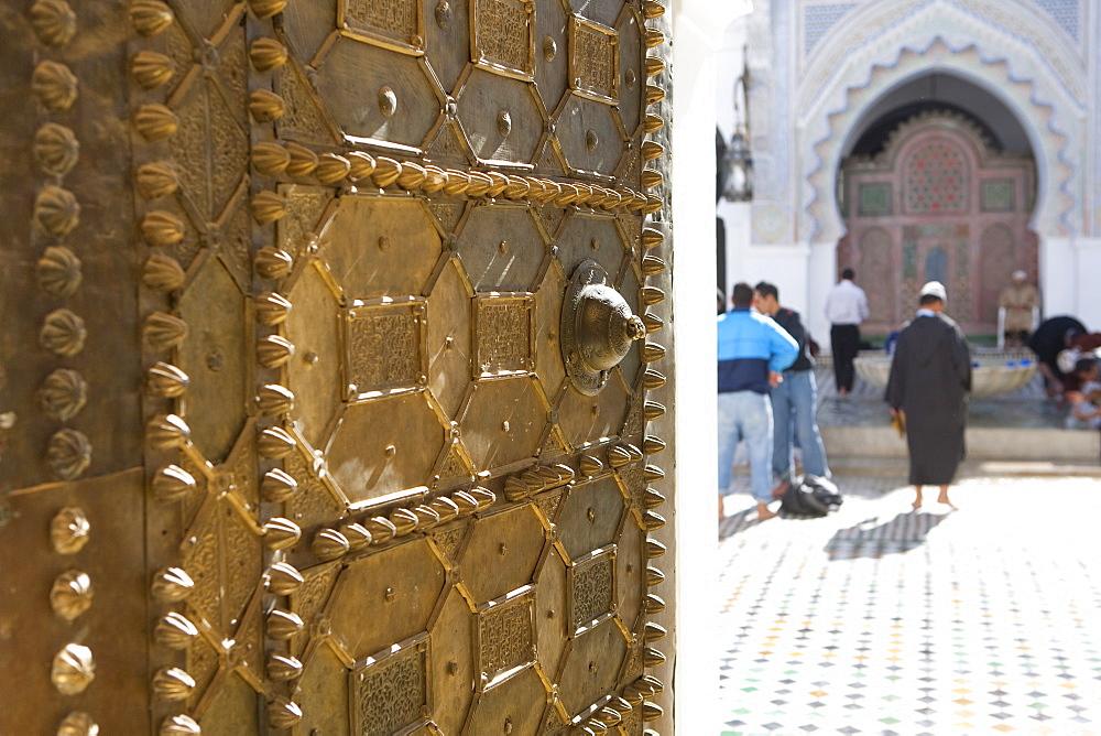 Attarine Mosque, Fez, UNESCO World Heritage Site, Morocco, North Africa, Africa - 793-1058