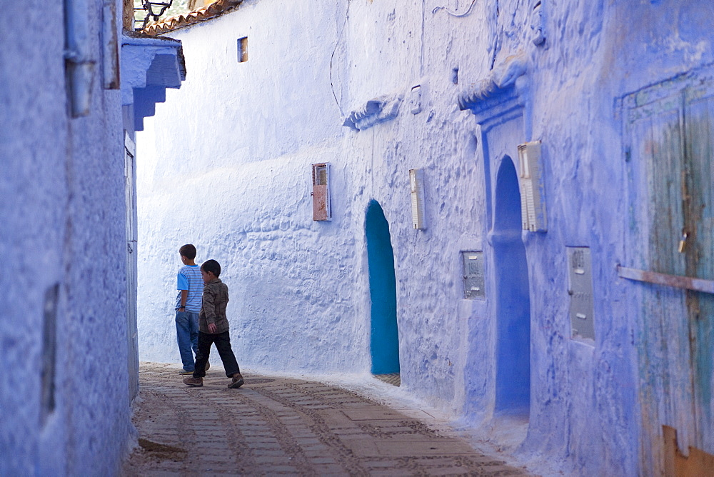 Medina, Chefchaouen, Morocco, North Africa, Africa - 793-1060