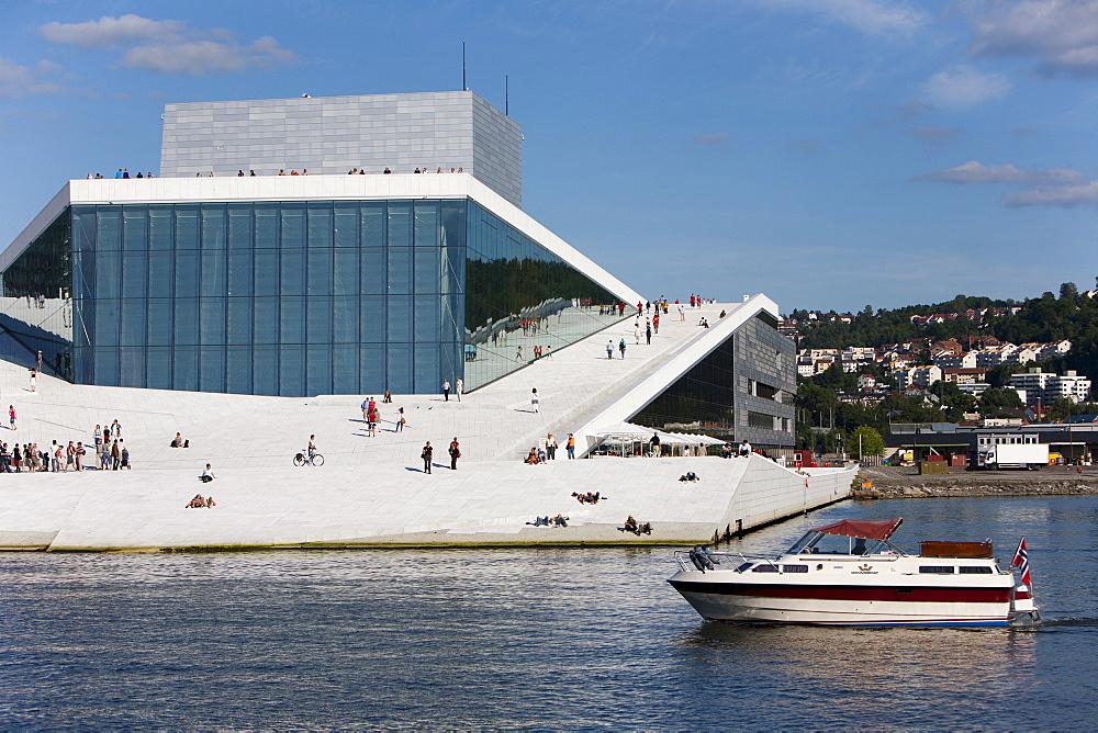 Oslo Opera House, architect Snohetta, Oslo, Norway, Scandinavia, Europe - 793-1069