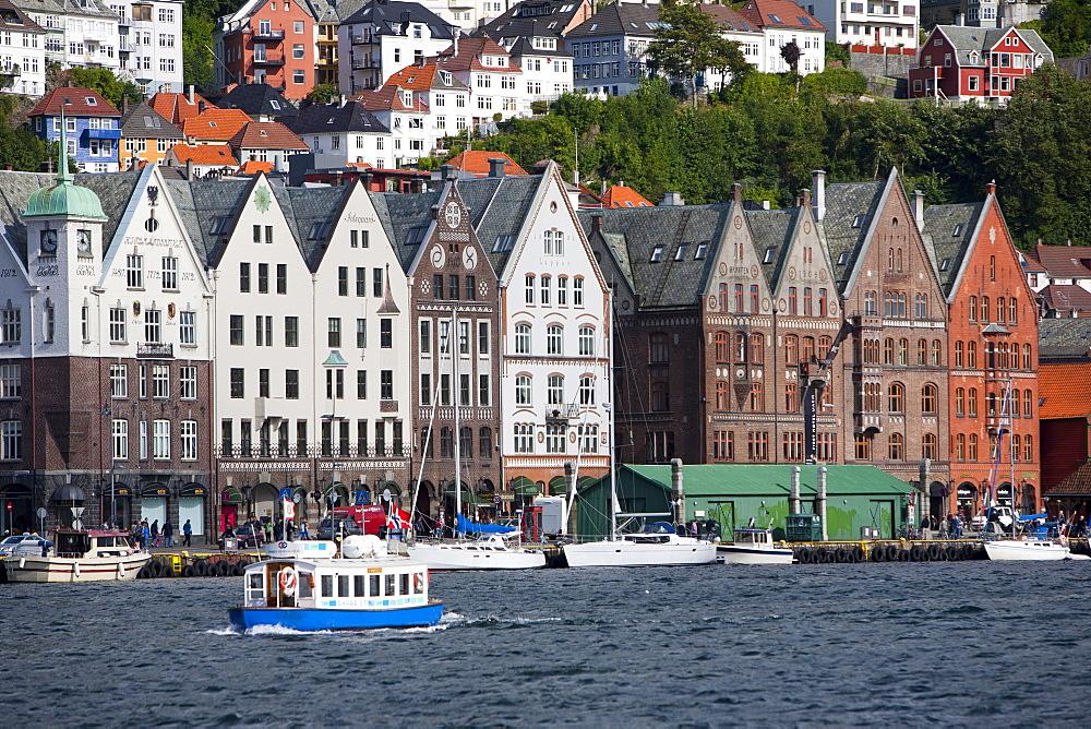 Bryggen, UNESCO World Heritage Site, Bergen, Hordaland, Norway, Scandinavia, Europe - 793-1080