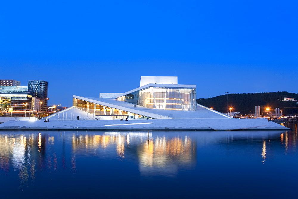 Oslo Opera House, Snohetta architect, Oslo, Norway, Scandinavia, Europe - 793-1088