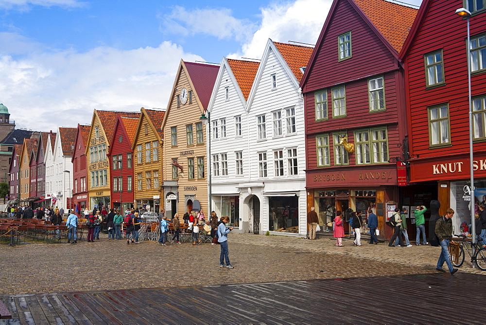 Bryggen, UNESCO World Heritage Site, Bergen, Norway, Scandinavia, Europe - 793-1123