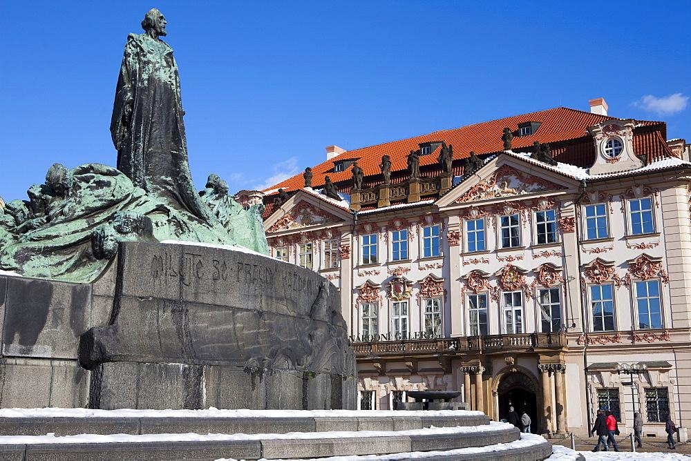 Old Town Square, Prague, Czech Republic, Europe - 793-1126