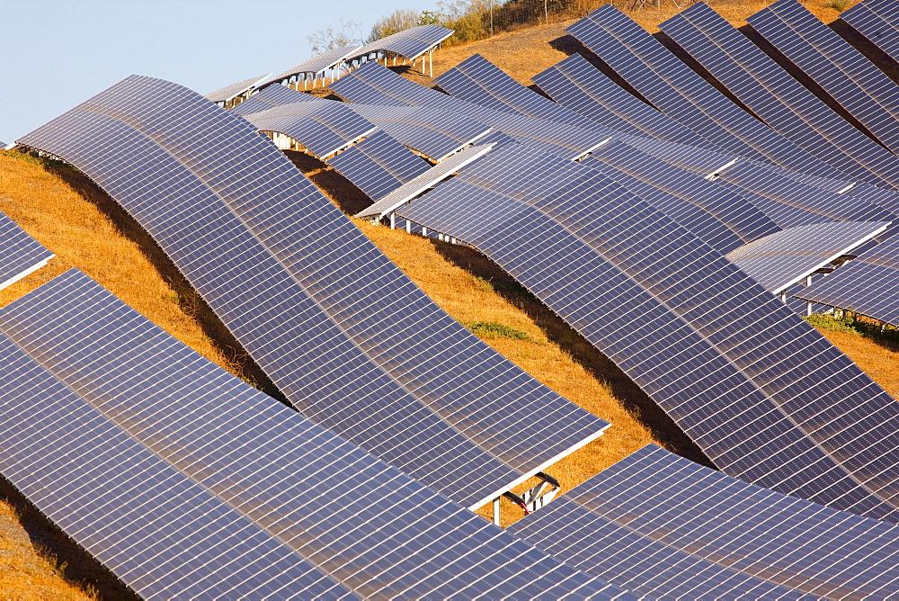 Solar plant, Lucainena de las Torres, Almeria, Andalucia, Spain, Europe - 793-1155