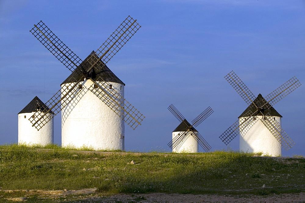 Windmills, Campo de Criptana, La Mancha, Spain, Europe