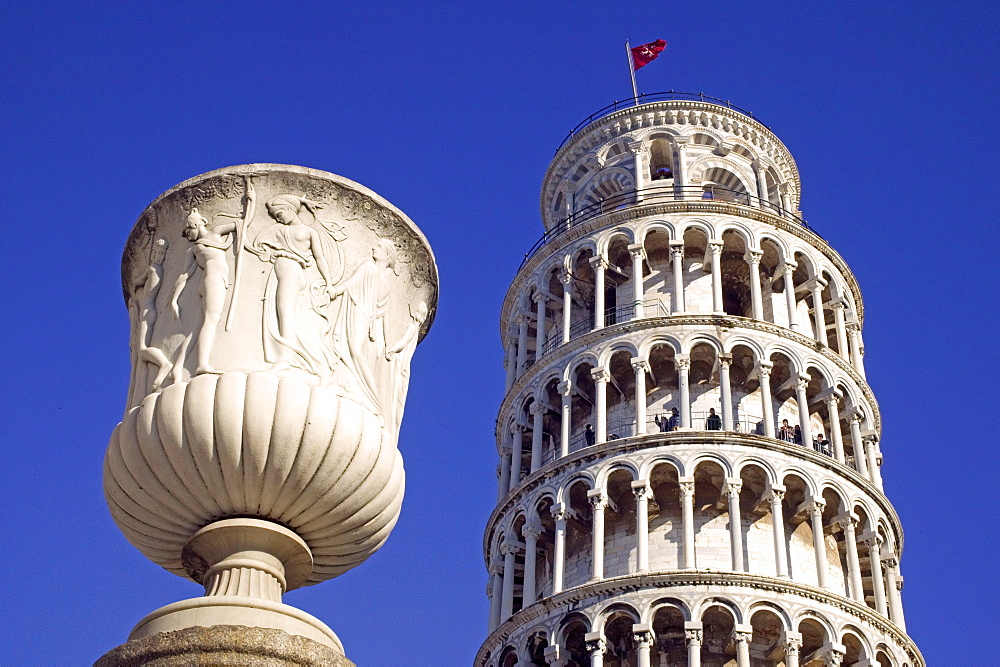 Leaning Tower of Pisa, UNESCO World Heritage Site, Pisa, Tuscany, Italy, Europe