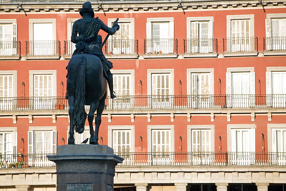 Plaza Mayor, Madrid, Spain, Europe - 793-182