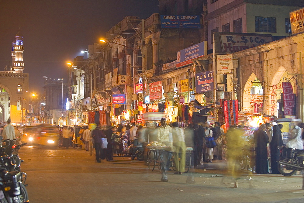 Lad Bazaar, Hyderabad, Andhra Pradesh state, India, Asia