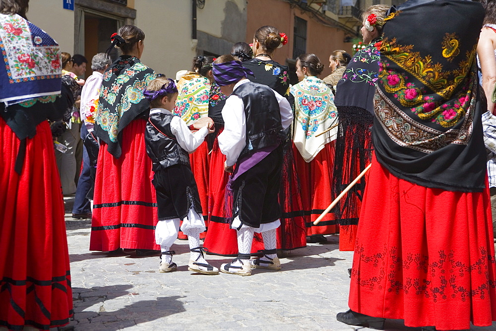 Celebrations of First Friday of May, Jaca, Aragon, Spain, Europe
