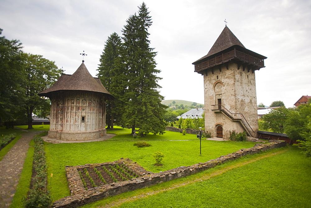 Humor Monastery, UNESCO World Heritage Site, Gura Humorului, Bucovina, Romania, Europe