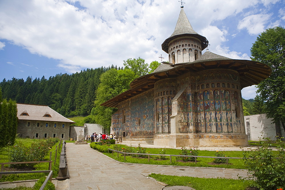 Voronet Monastery, UNESCO World Heritage Site, Bucovina, Romania, Europe