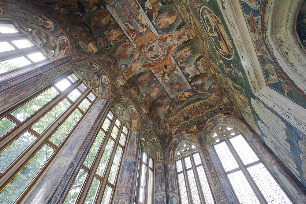 Probota Monastery, UNESCO World Heritage Site, Dolhasca, Bucovina, Romania, Europe - 793-939