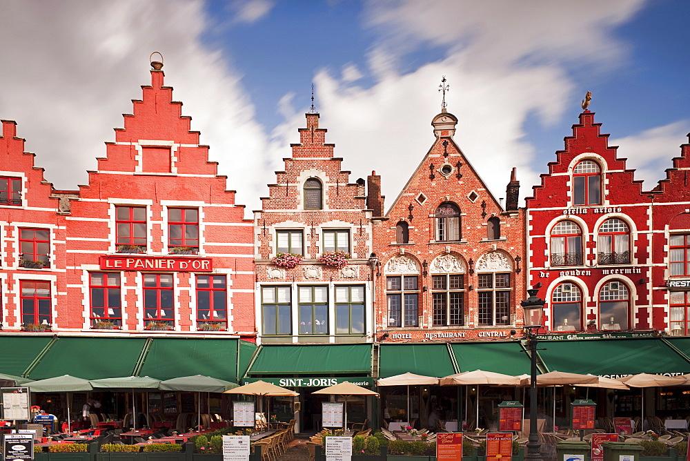 The Markt (Main Market Place), Bruges, Belgium, Europe - 794-1229