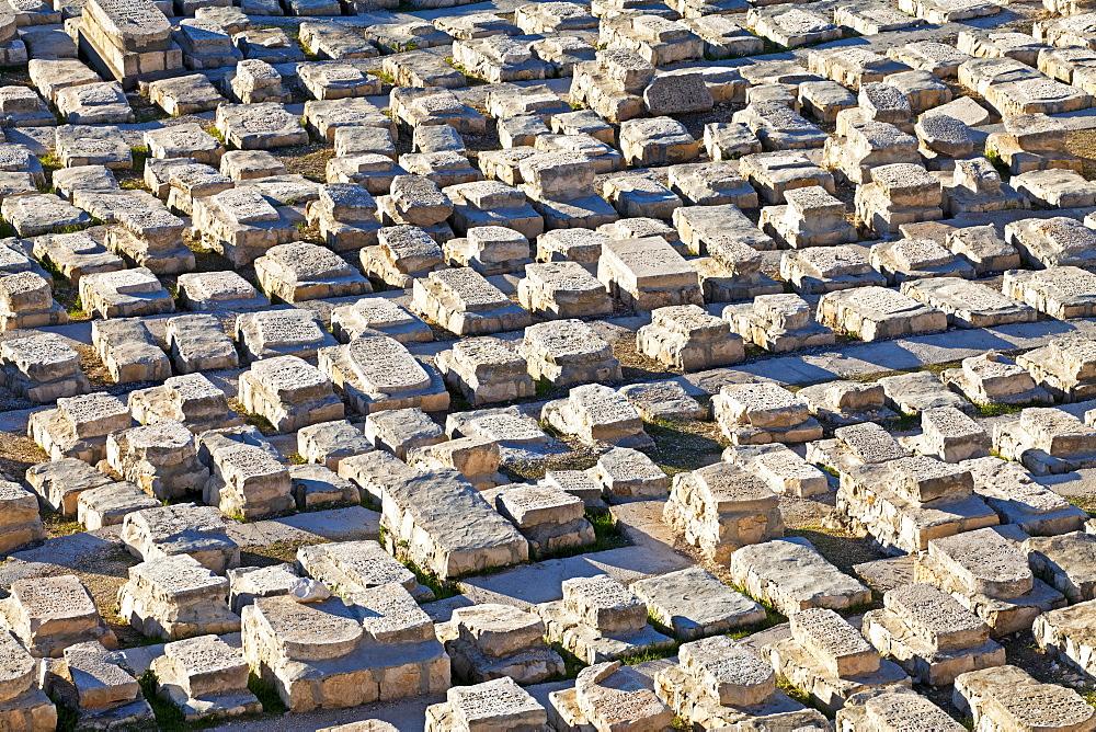 Jewish cemetery, Mount of Olives, Jerusalem, Israel, Middle East