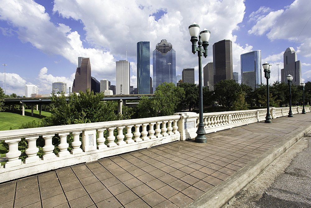 City skyline, Houston, Texas, United States of America, North America