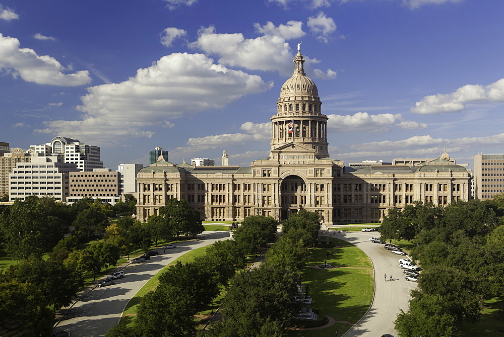 State Capital building, Austin, Texas, United States of America, North America - 794-3794