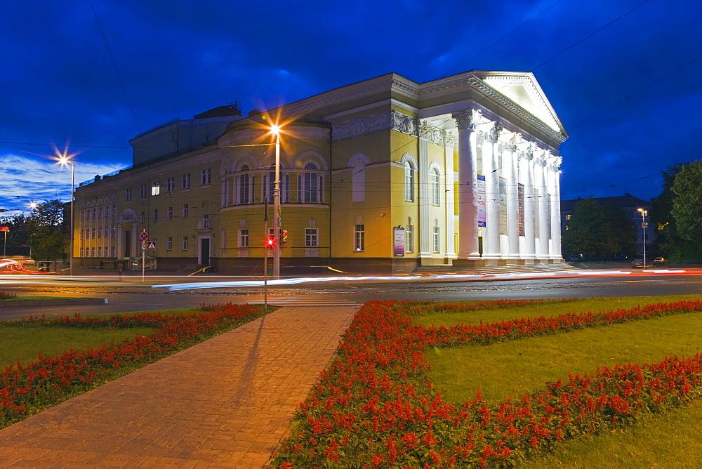 Drama Theatre House on Prospekt Mira, Kaliningrad, Russia, Europe
