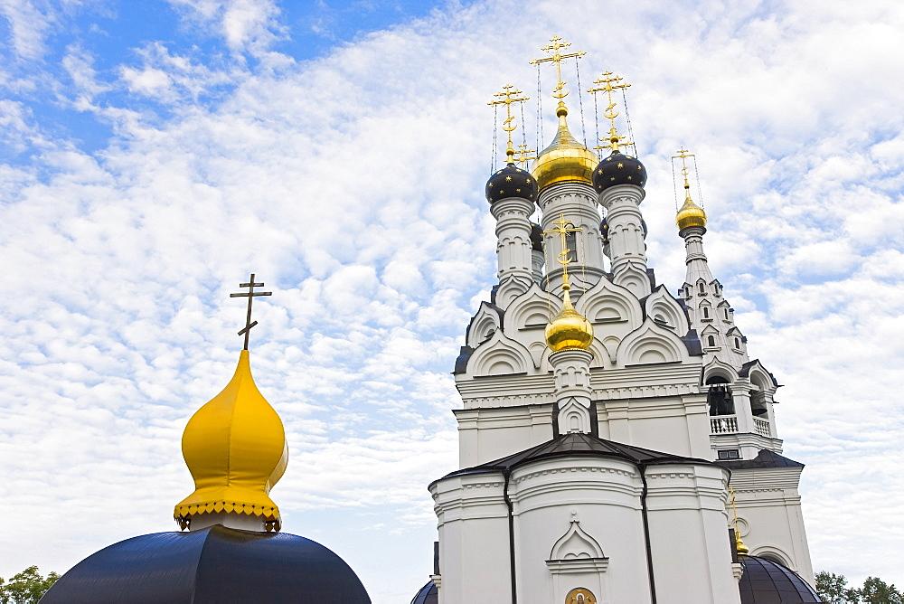 Russian Orthodox Church in Bagrationovsk, Kaliningrad, Russia, Europe
