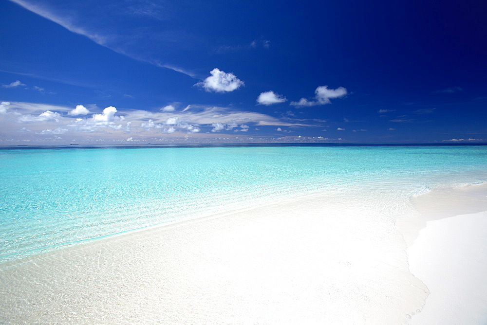 Tropical beach, Maldives, Indian Ocean, Asia - 795-506