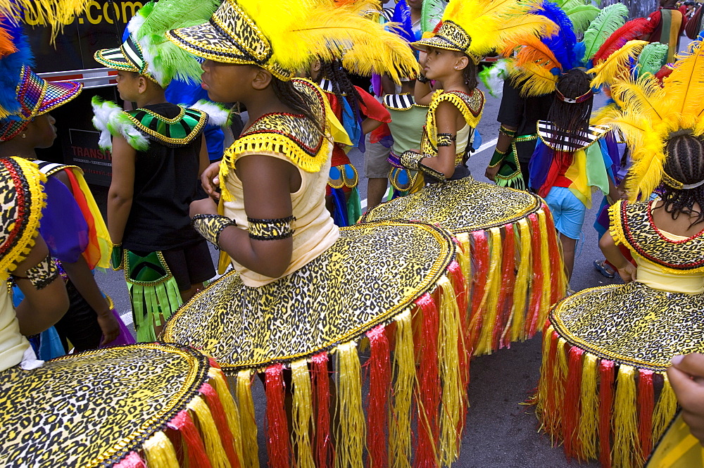 Caribbean carnival festival, Montreal, Quebec, Canada, North America - 796-100