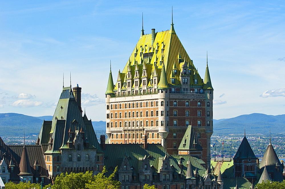 Fairmont Le Chateau Frontenac Hotel, Quebec City, Quebec, Canada, North America - 796-1030
