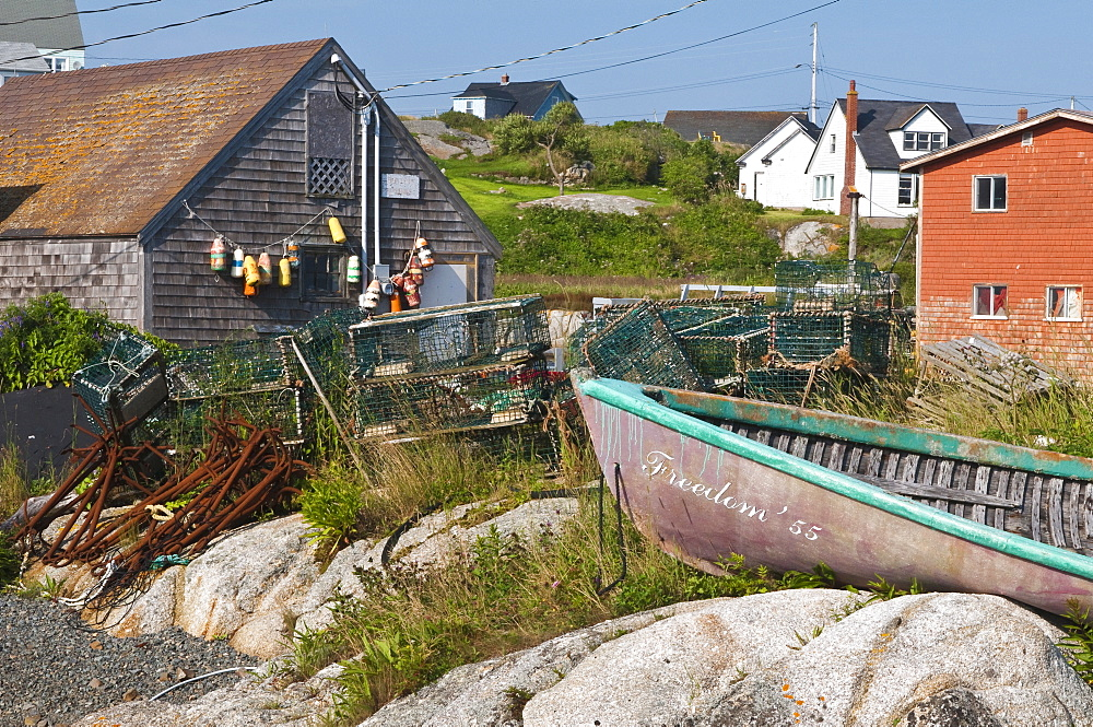 Peggy's Cove, Nova Scotia, Canada, North America