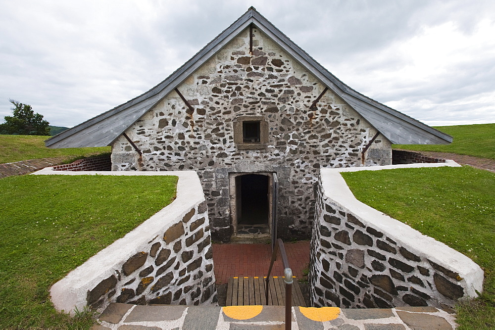 Fort Anne in Annapolis Royal, Nova Scotia, Canada, North America