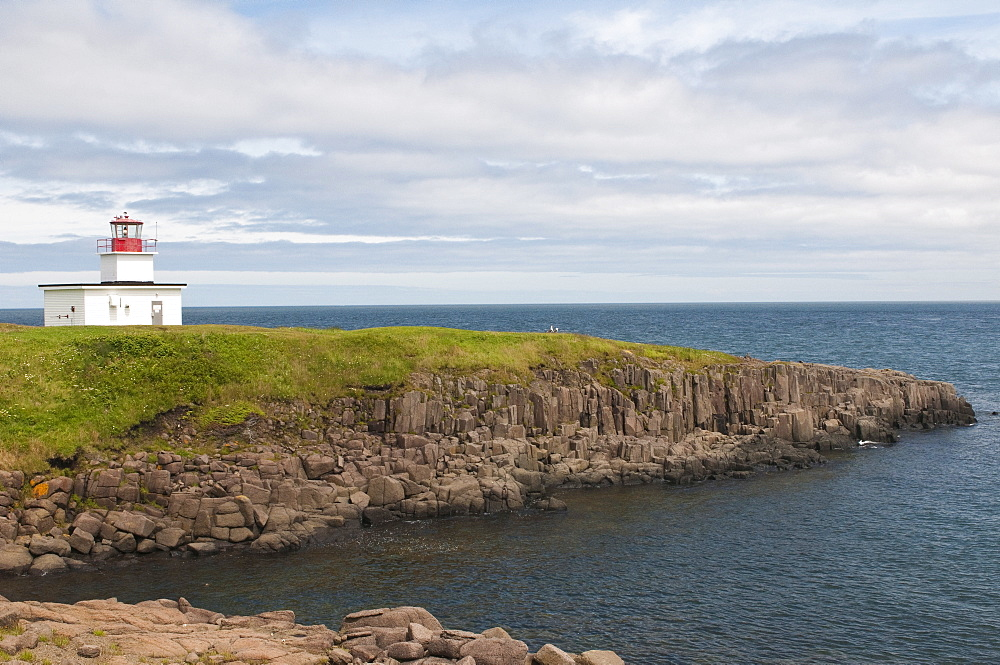 Grand Passage Lighthouse, Brier Island, Nova Scotia, Canada, North America