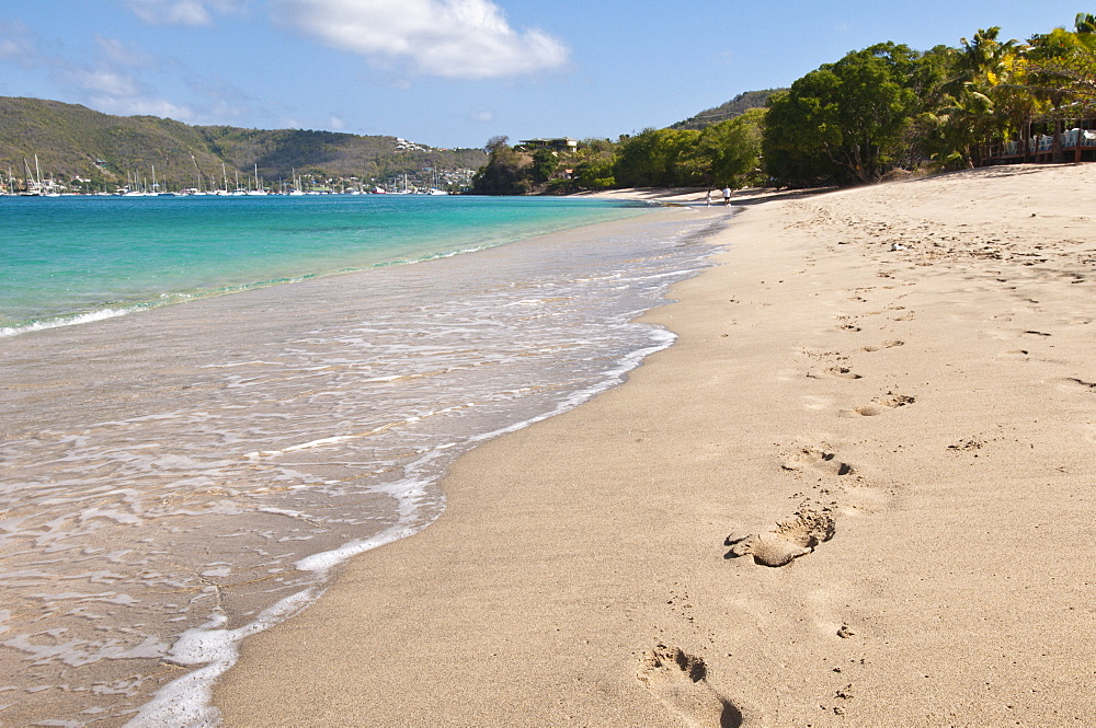 Princess Margaret Beach, Bequia, St. Vincent and The Grenadines, Windward Islands, West Indies, Caribbean, Central America