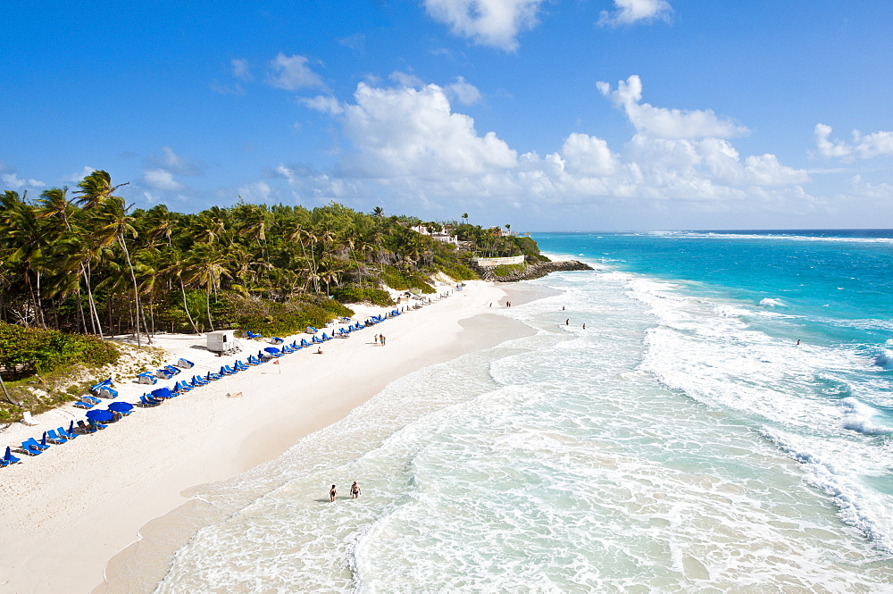 Crane Beach at Crane Beach Resort, Barbados, Windward Islands, West Indies, Caribbean, Central America - 796-1323