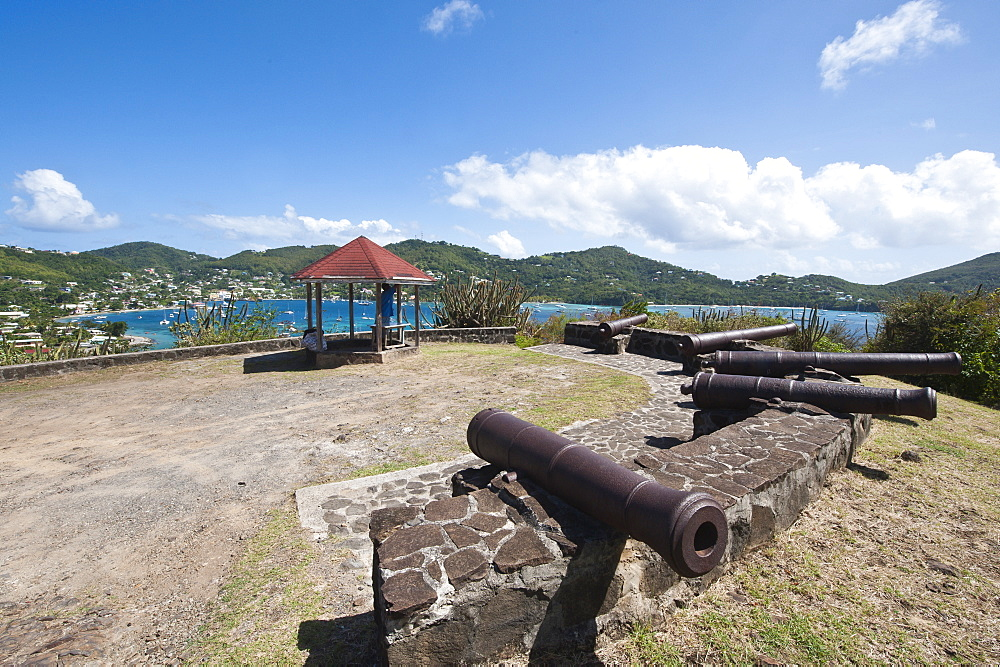 Fort Hamilton, Port Elizabeth, Bequia, St. Vincent and The Grenadines, Windward Islands, West Indies, Caribbean, Central America