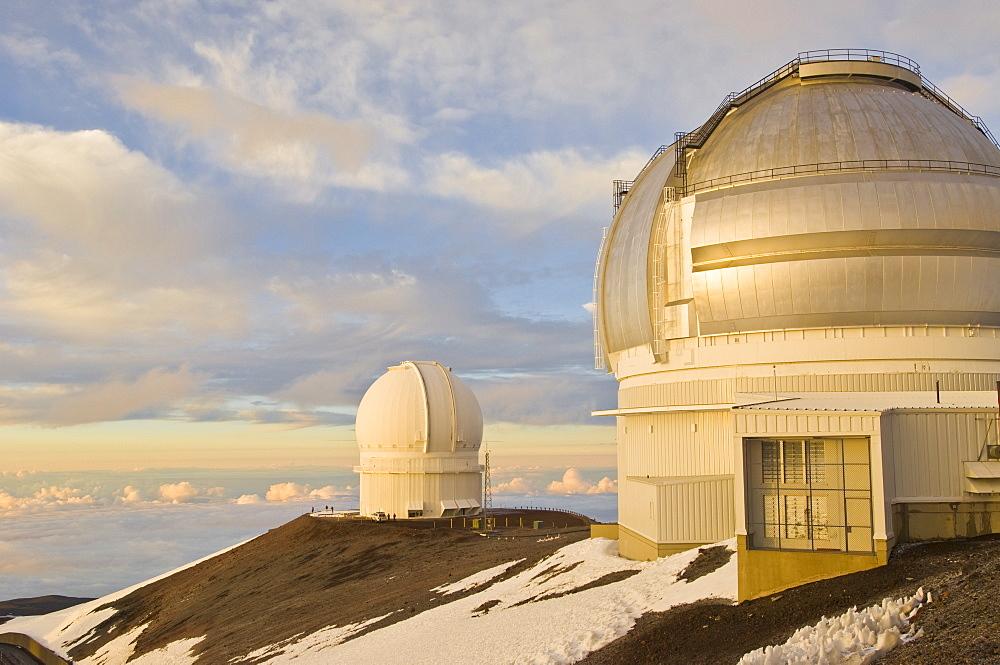 Observatory, Mauna Kea, Big Island, Hawaii, United States of America, North America