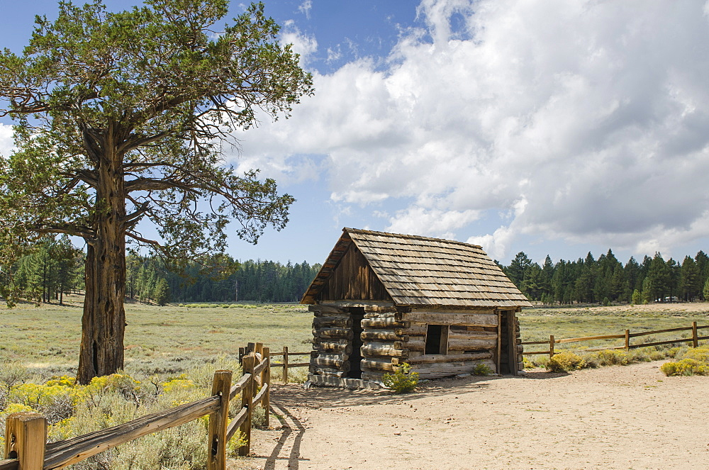 Van Dusen Cabin Bellville, Big Bear Lake, California, United States of America, North America