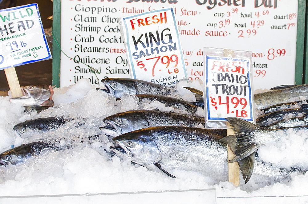 Pikes Place Market, Seattle, Washington State, United States of America, North America