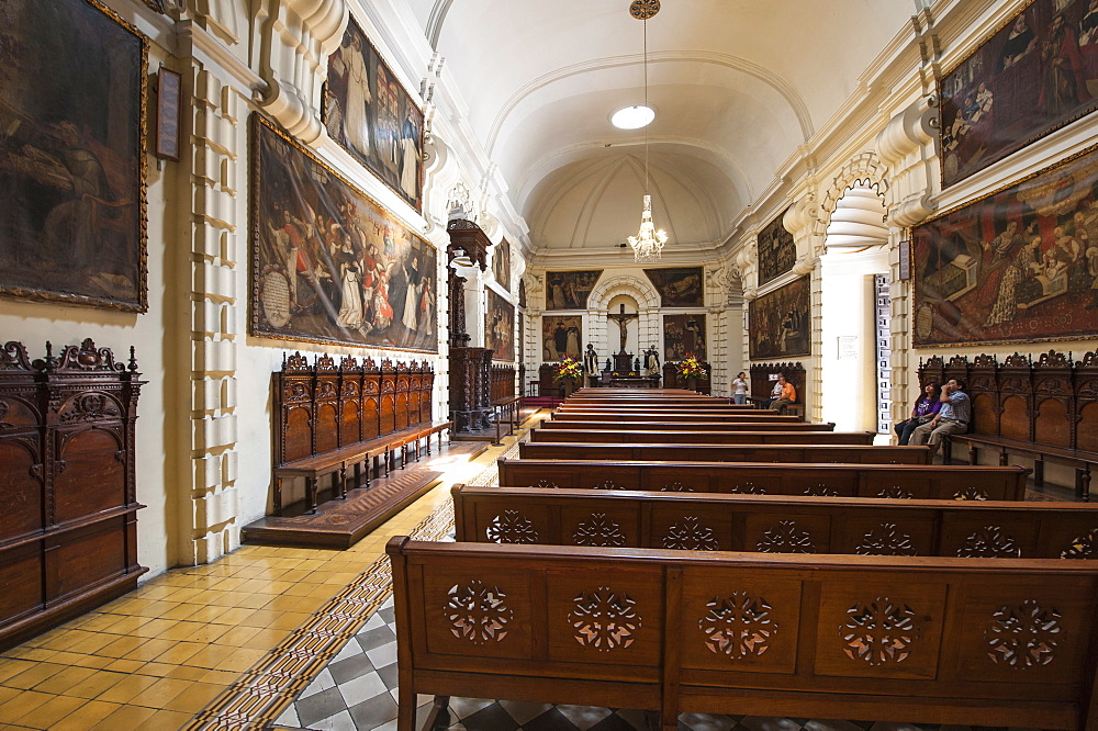 The Convent of Santo Domingo, Lima, Peru, South America