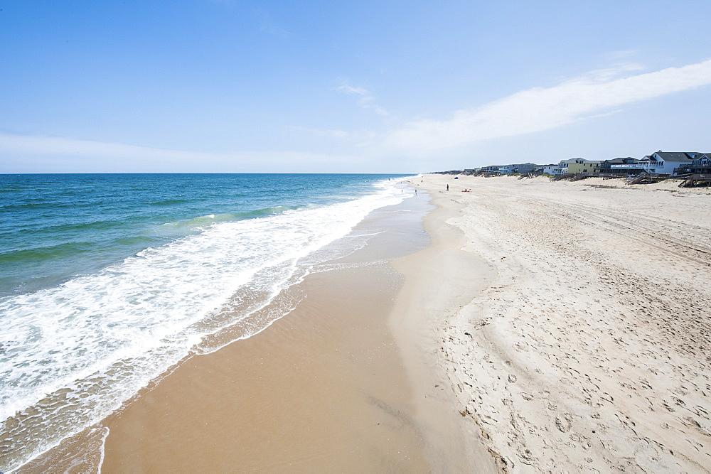 Beach at Nags Head, Outer Banks, North Carolina, United States of America, North America
